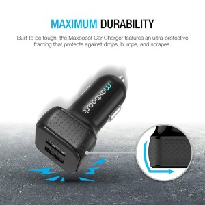 Maxboost  DualPort USB Car charger