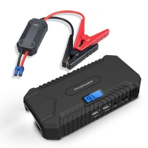 Car Jump Starter RAVPower 550A Peak Current Portable Charger Car Battery