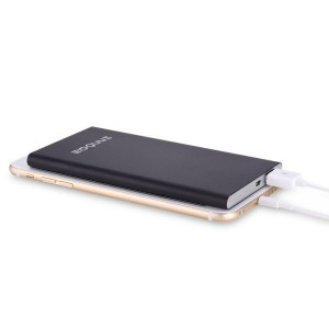Innogie PPM900 6600mah Air 6000 Power Bank with 2.4Amp Output for Smartphones & Tablets - Black