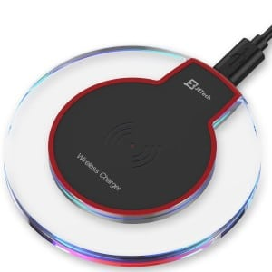 best Wireless Charger, JETech Ultra-Slim Wireless Charging Pad