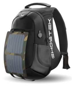 Ghostek NRGsolar Series 40L Eco Laptop Backpack Solar Panel and built in charger
